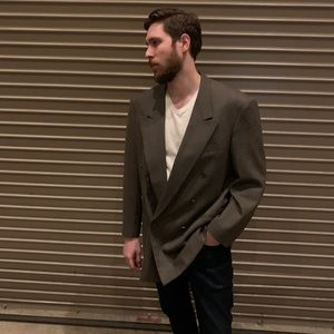 Oversized Christian Dior Double Breasted Blazer